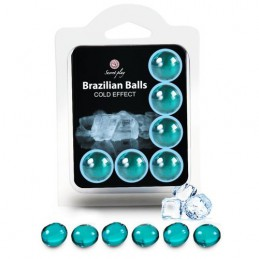 SET 6 BRAZILIAN BALLS COLD...